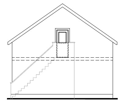 Gowan_Lodge_-_Garage_-_Rear_Elevation