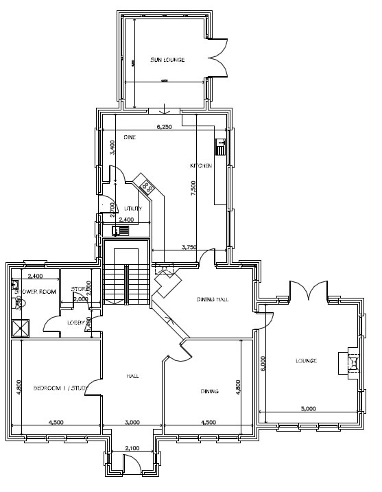 Gowan_Manor_-_Alternative_Ground_Floor_Plans