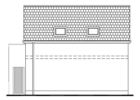 Gowan_Manor_-_Garage_-_Left_Side_Elevation