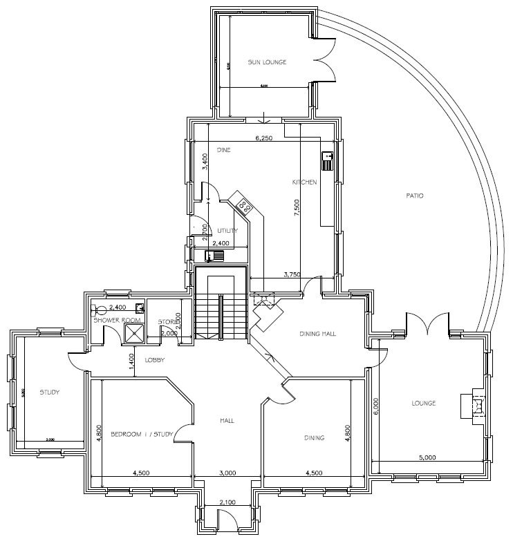 Gowan_Manor_-_Ground_Floor_Plans