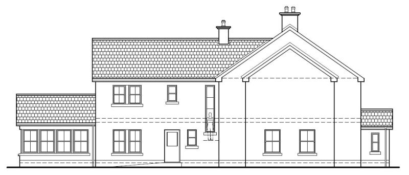 Gowan_Manor_-_Right_Side_Elevation