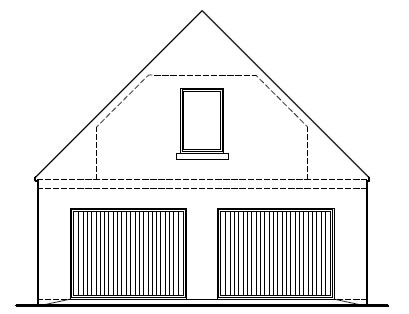 Gown_Manor_Farm_-_Garage_-_Front_Elevation
