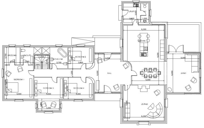 Gowan manor farm for Manor farm house plan