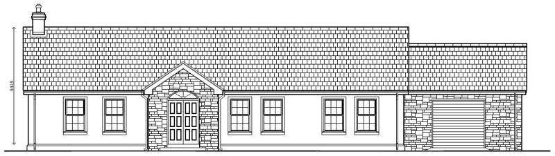 Hilltop_Cottage_-_Front_Elevation