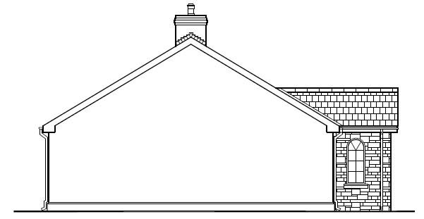 Hilltop_Cottage_-_Left_Side_Elevation