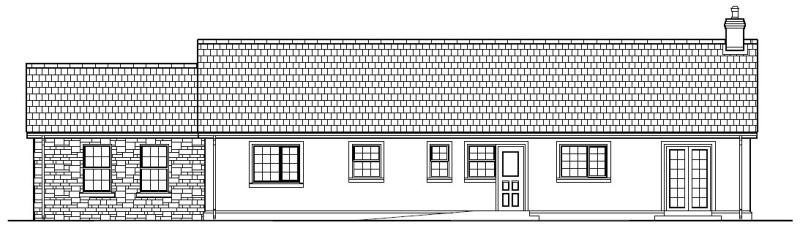 Hilltop_Cottage_-_Rear_Elevation