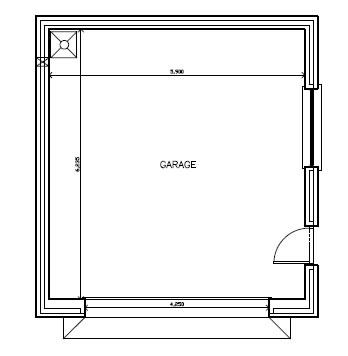 Robbies_Cottage_-_Garage_-_Floorplan