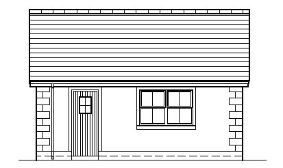 Robbies_Cottage_-_Garage_-_Right_Side_Elevation