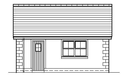 Robbies_Cottage_-_Garage_-_Right_Side_Elevation
