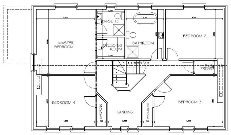 Shanks_Farmhouse_-_First_Floor_Plans