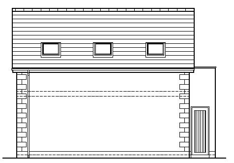 Shanks_Farmhouse_-_Garage_-_Front_Side_Elevation