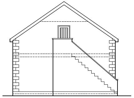 Shanks_Farmhouse_-_Garage_-_Rear_Elevation