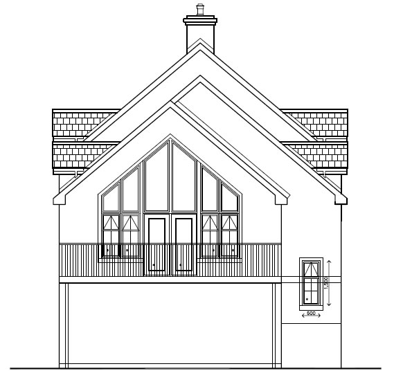 Tamry_House_-_Front_Side_Elevation