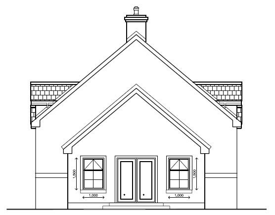 Tamry_House_-_Rear_Side_Elevation